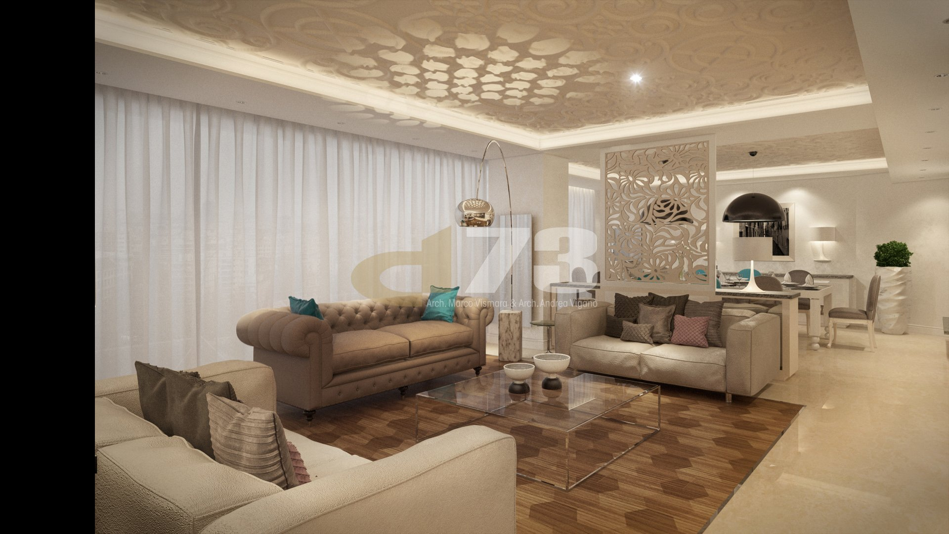 Residence Apartment in Baabda, Lebanon