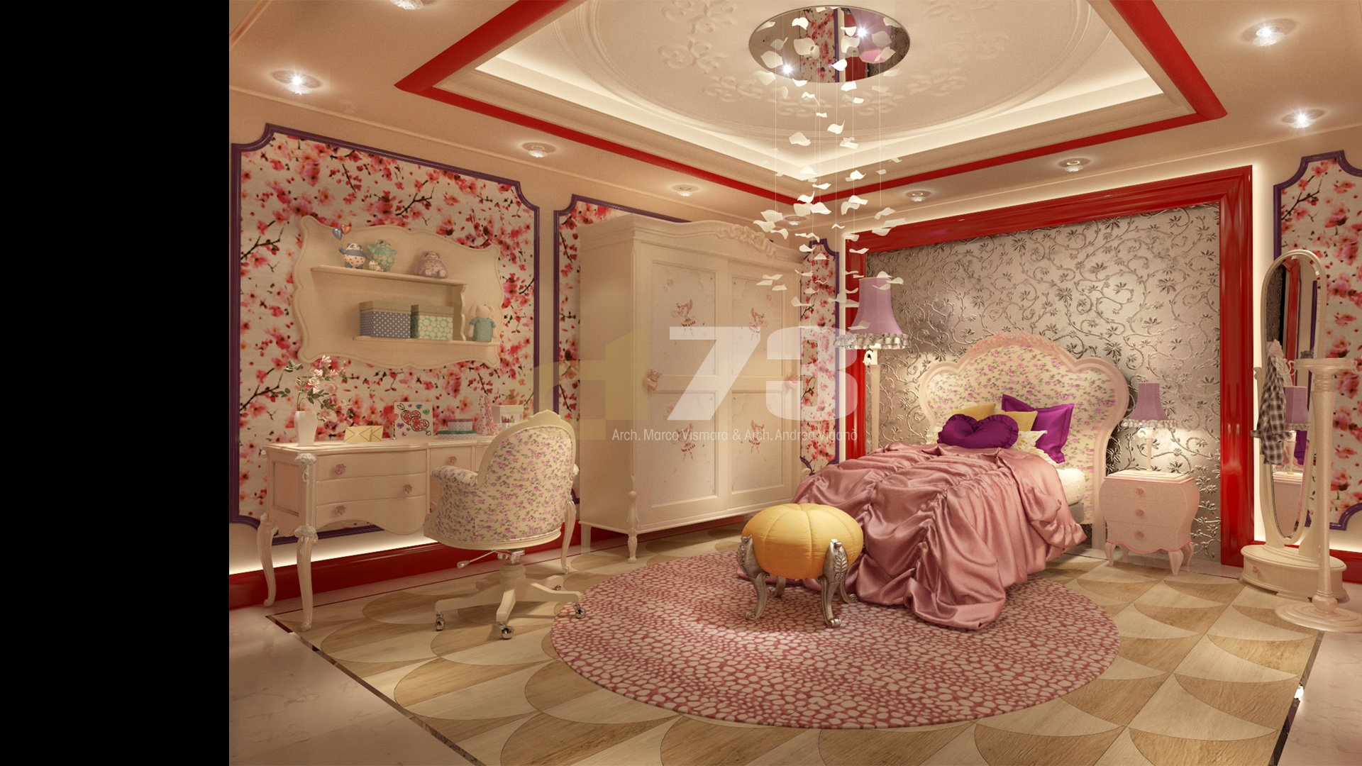 Children area_room of girl_02