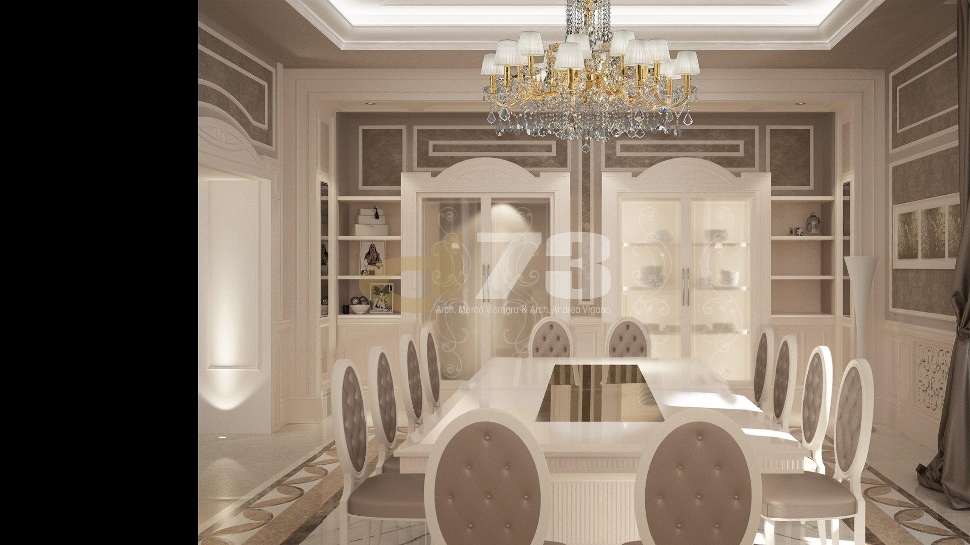 Private classic Villa Moscow Russia
